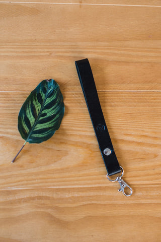 Black Wristlet Lanyard for Men and Women - Accessories - WAR Chest Boutique