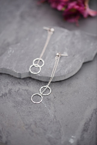 Dimension Circle Earring
