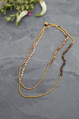 Field Beaded Necklace