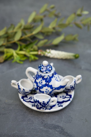 Large Ceramic Tea Set