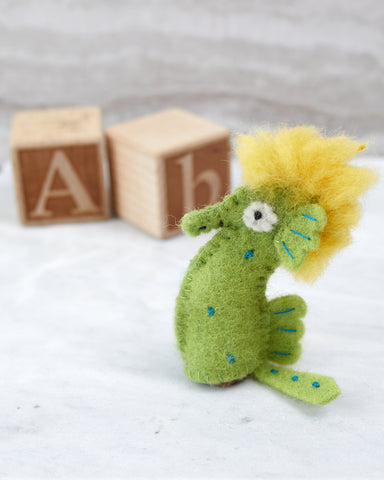 Sea Horse Finger Puppet for Children - WAR Chest Boutique