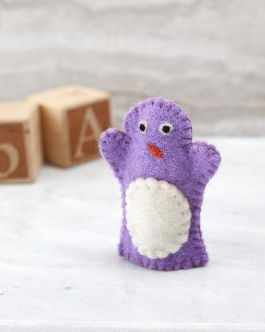 Penguin Finger Puppet for Children - WAR Chest Boutique