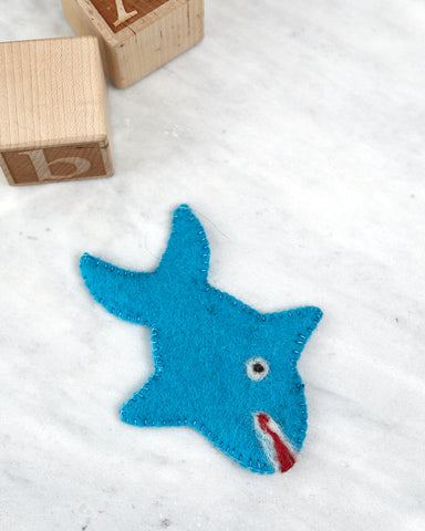 Shark Puppet -Children - WAR Chest Boutique
