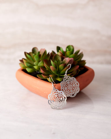 Viti Earrings Silver for Women - Jewelry - WAR Chest Boutique