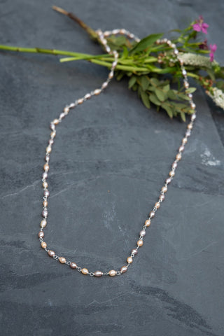 Sherbert Pearl Necklace