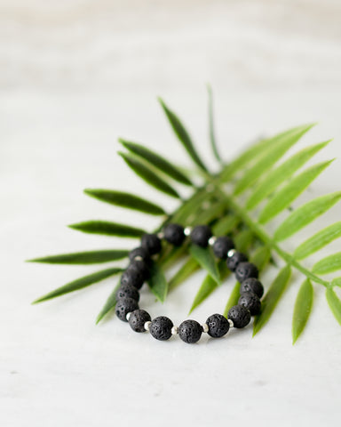 Lava Bead Bracelet - Jewelry - WAR Chest Boutique