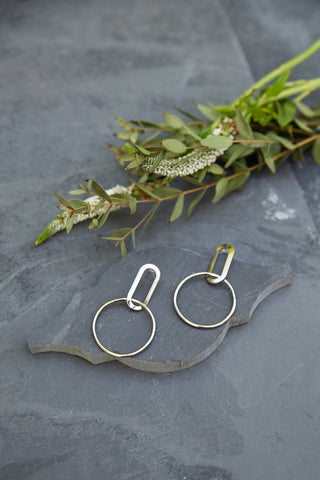 Silver Alta Earrings for Women - Jewelry - WAR Chest Boutique