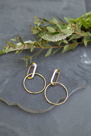 Gold Alta Earrings for Women - Jewelry - WAR Chest Boutique