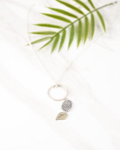 A Silver Song Necklace