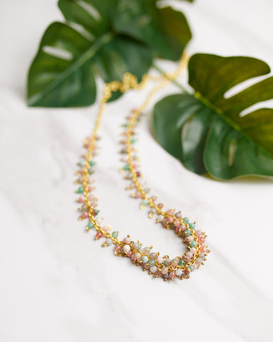 Cascading Bouquet Necklace