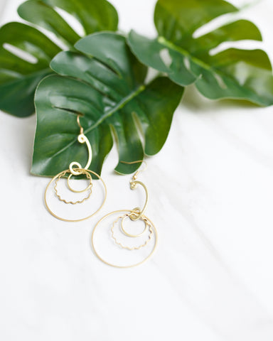 Rings of Fire Earrings