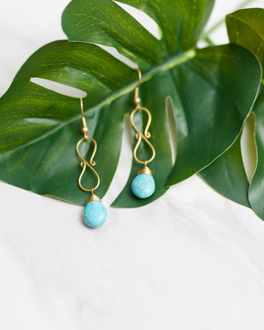 Infinite Waters Earrings for Women - WAR Chest Boutique