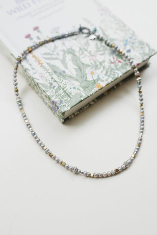 Perpetual Silver Pearl Necklace - Jewelry - WAR Chest Boutique