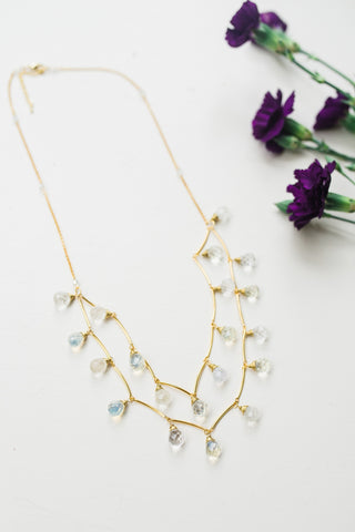 Icicle Droplet Necklace for Women - Jewelry - WAR Chest Boutique