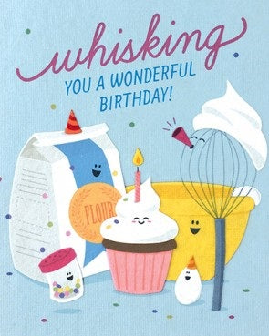 Whisking Birthday Card - Stationary - WAR Chest Boutique