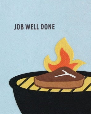 Job Well Done Card - Stationary - WAR Chest Boutique
