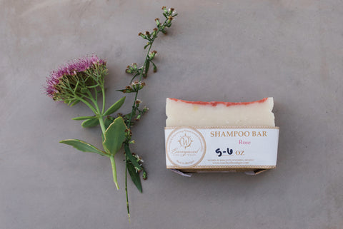 Rose Shampoo Bar - Spa Collection - WAR Chest Boutique
