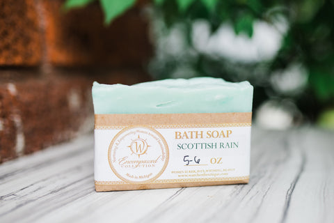 Scottish Rain Soap Bar for Men and Women - Spa - WAR Chest Boutique