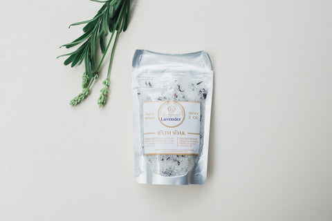 Mini Lavender Bath Salts - Spa - WAR Chest Boutique