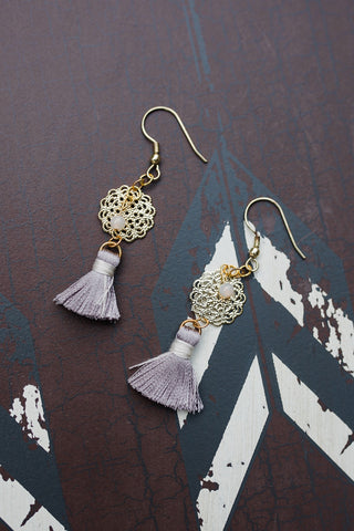 Tassel Filigree Dangle Earrings for Women - Jewelry - WAR Chest Boutique