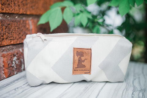 Chev Travel Pouch for Women and Children - Accessories - WAR Chest Boutique