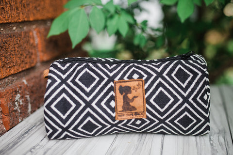 Negra Travel Pouch for Women and Children - Accessories - WAR Chest Boutique