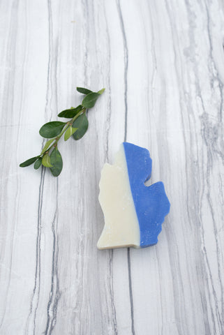 Michigan Blue Sea Soap - Spa - WAR Chest Boutique