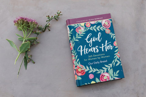 God Hears Her: 365 Devotions for Women by Women - Books - WAR Chest Boutique