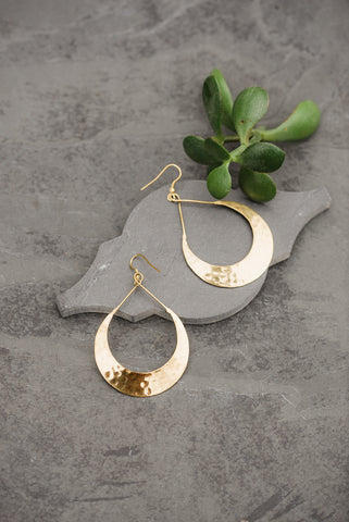 Gold Zenaida Earrings for Women - Jewelry - WAR Chest Boutique