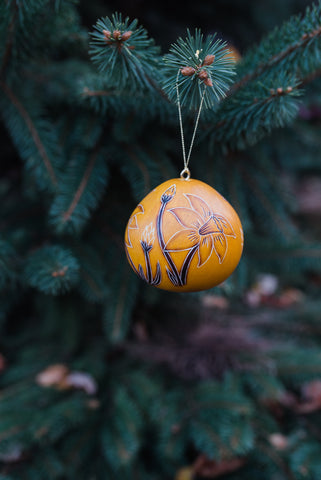 Daffodil Gourd Ornament - Ornaments - WAR Chest Boutique