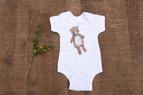 Little Bear Onesie for Babies - Children's Collection - WAR Chest Boutique