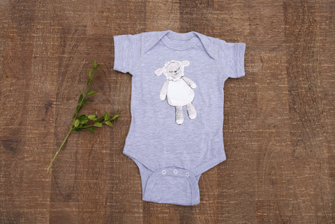 Little Lambie Onesie for Babies - Children's Collection - WAR Chest Boutique