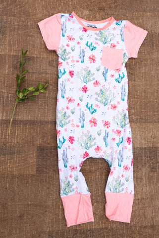 Garden Cactus Romper for Babies - Children's Collection - WAR Chest Boutique