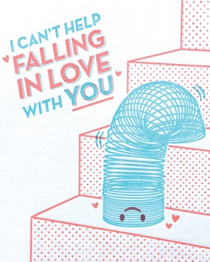Slinky Love Card - Stationary - WAR Chest Boutique