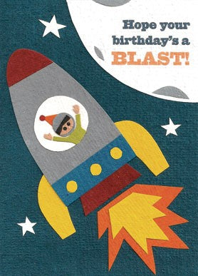 Birthday Blast Card - Stationary - WAR Chest Boutique