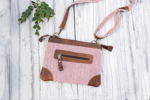 Herringbone Crossbody Purse for Women - Handbags - WAR Chest Boutique