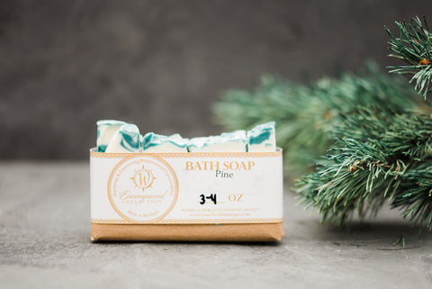 Pine Soap Bar - Spa Collection - WAR Chest Boutique