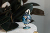 Blue & Gold WAR Globe Ornament - Ornaments - WAR Chest Boutique