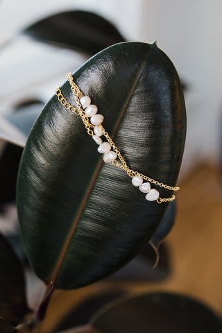 Flapper Pearl Bracelet for Women - Jewelry - WAR Chest Boutique