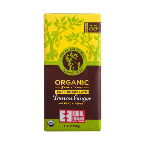 Lemon Ginger Chocolate Bar - Coffee & Tea Collection - WAR Chest Boutique