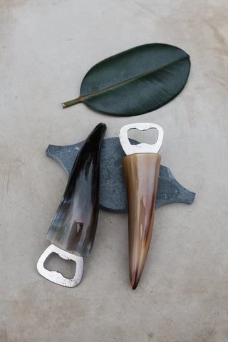 Cow Horn Bottle Opener - House & Decor - WAR Chest Boutique