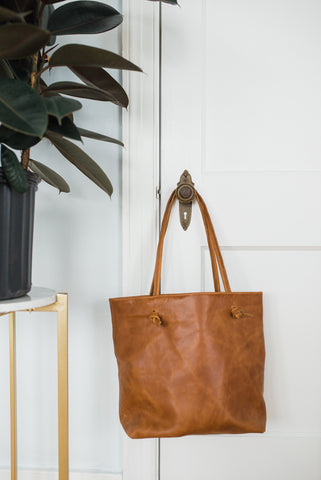 Rachel Tote Chestnut for Women - Bags & Accessories - WAR Chest Boutique