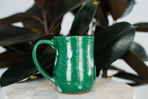 Aqua Sprinkles Mug - Home Decor - WAR Chest Boutique