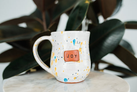 Joy Sprinkle Mug - Home Decor - WAR Chest Boutique