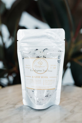 Mini Eucalyptus Bath Salt - Spa - WAR Chest Boutique