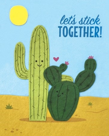 Let's Stick Together Card - Office & Stationary - WAR Chest Boutique