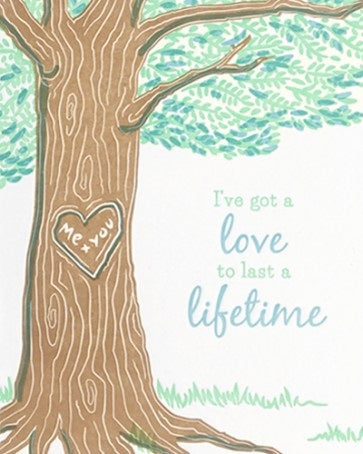 Lifetime Love Card - Office & Stationary - WAR Chest Boutique