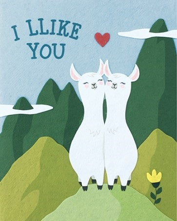 Like You Llama Card - Office & Stationary - WAR Chest Boutique