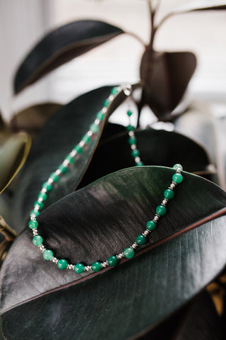 Classy Jade Necklace for Women - Jewelry - WAR Chest Boutique
