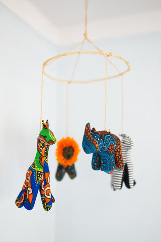 Varied African Rhino Mobile for Children - Toys & Games - WAR Chest Boutique